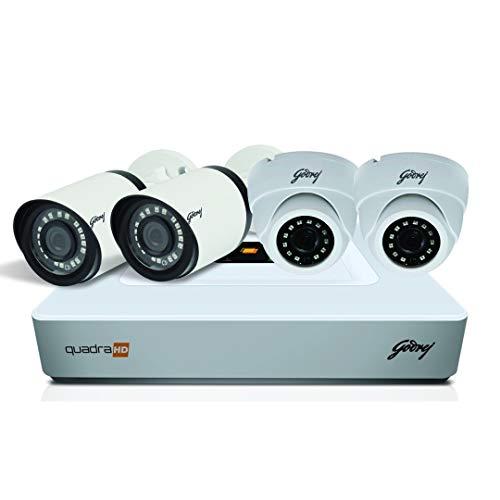 Godrej High Defination 1080P Full CCTV Camera KIT
