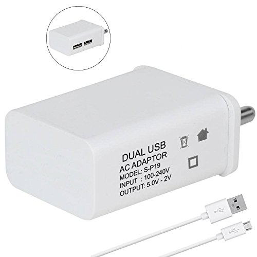 A2Z Shop 2 Amp Mobile Dual Port Fast Charger Rs. 100 #Amazon