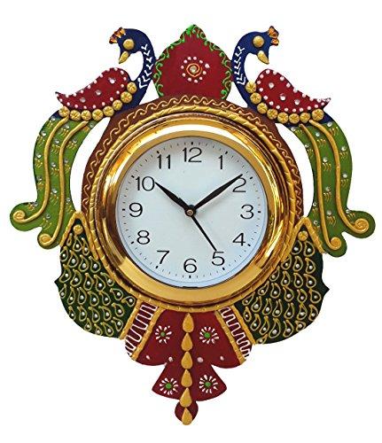 Divine Crafts Plastic Round Sweep Movement Wall Clock - No Tik Tik...