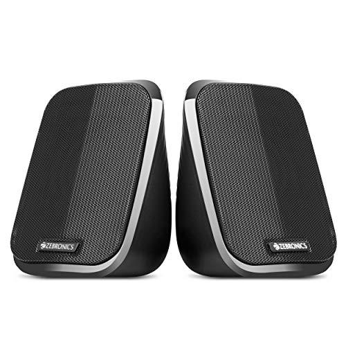(Renewed) Zebronics Zeb-Fame 2.0 Multi Media Speakers with AUX, USB and Volume...